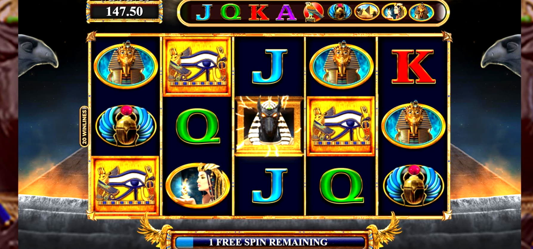 22 Free spins casino at Planet 7 Casino