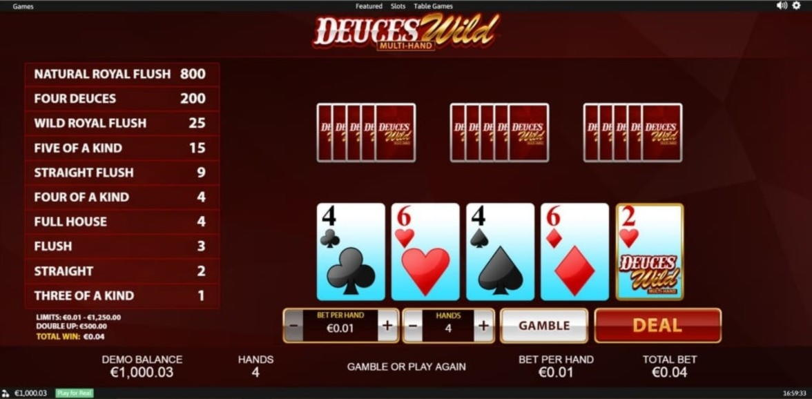 $415 no deposit at Win A Day Casino