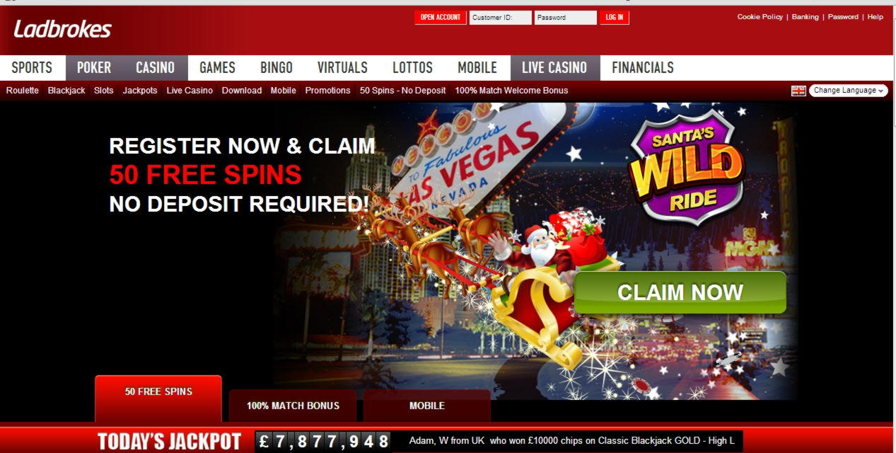 £215 Online Casino Tournament at Party Casino