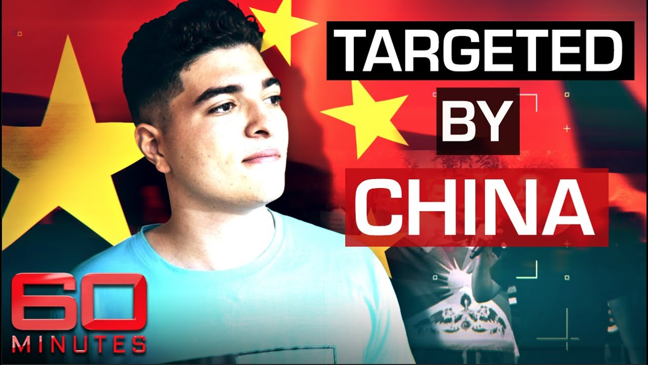 Student becomes 'enemy' of China after protesting human rights violations | 60 Minutes Australia