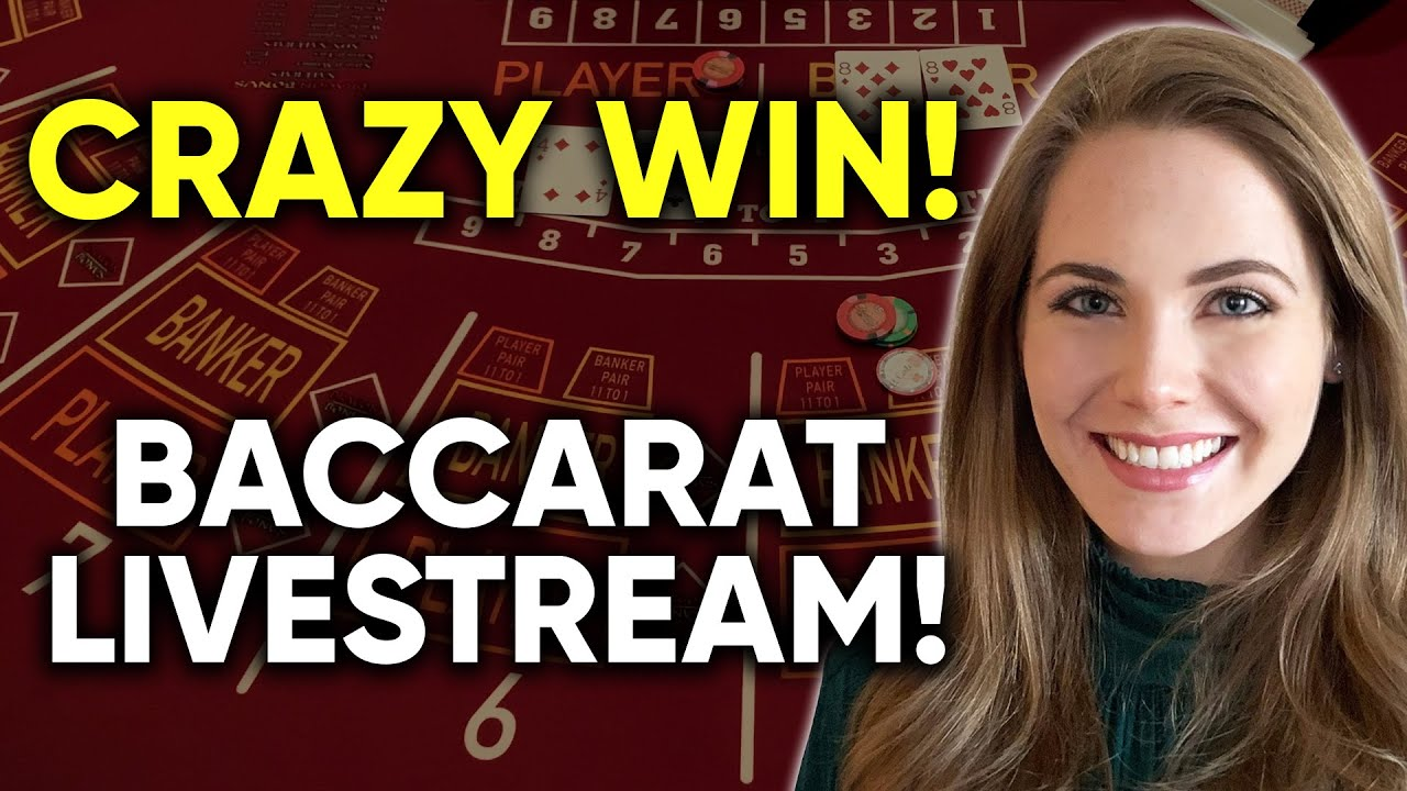 EPIC WINNING RUN!! LIVE HIGH STAKES Baccarat!! $1000/HAND!!